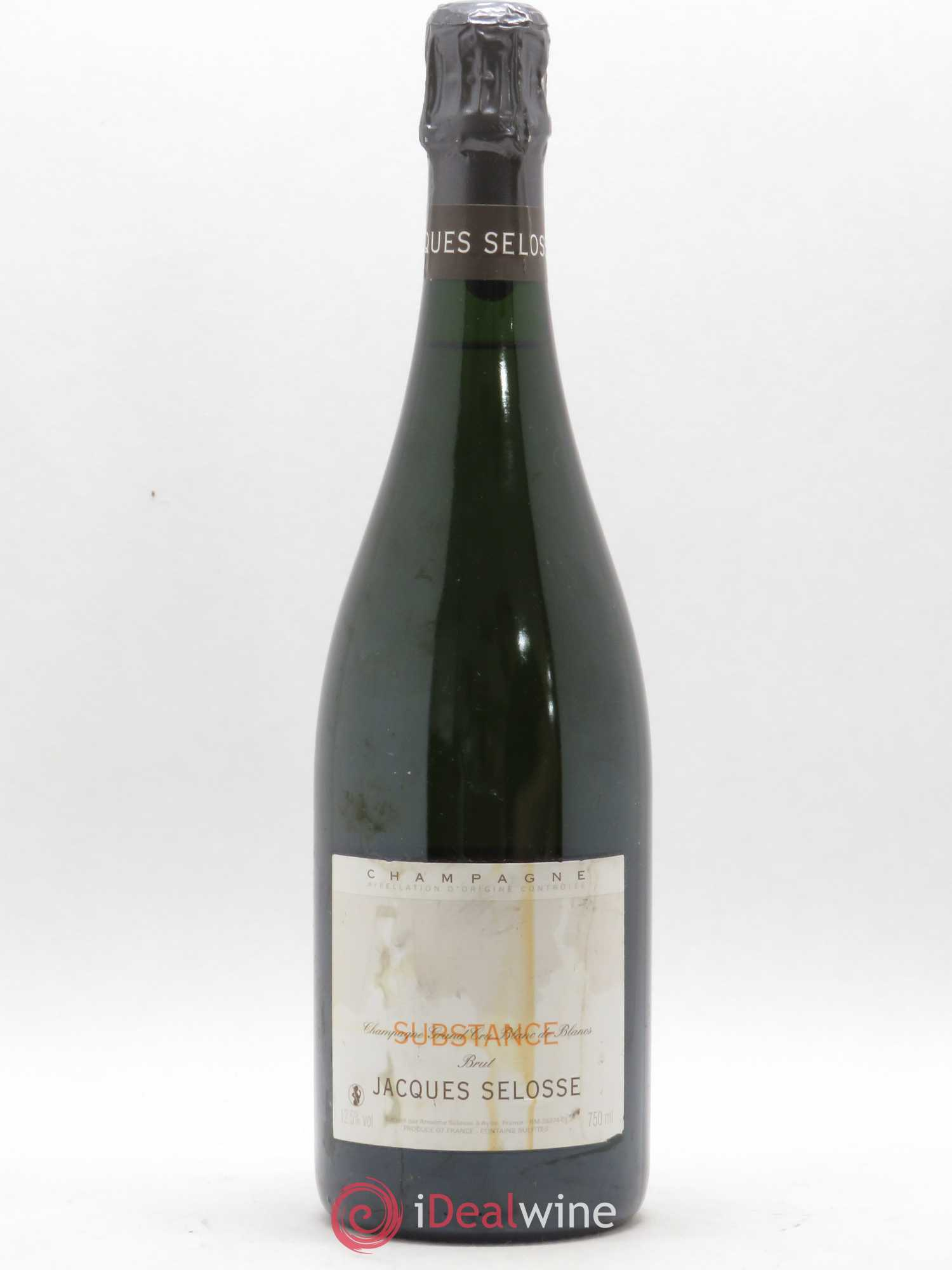 Substance Jacques Selosse   - Lot of 1 Bottle