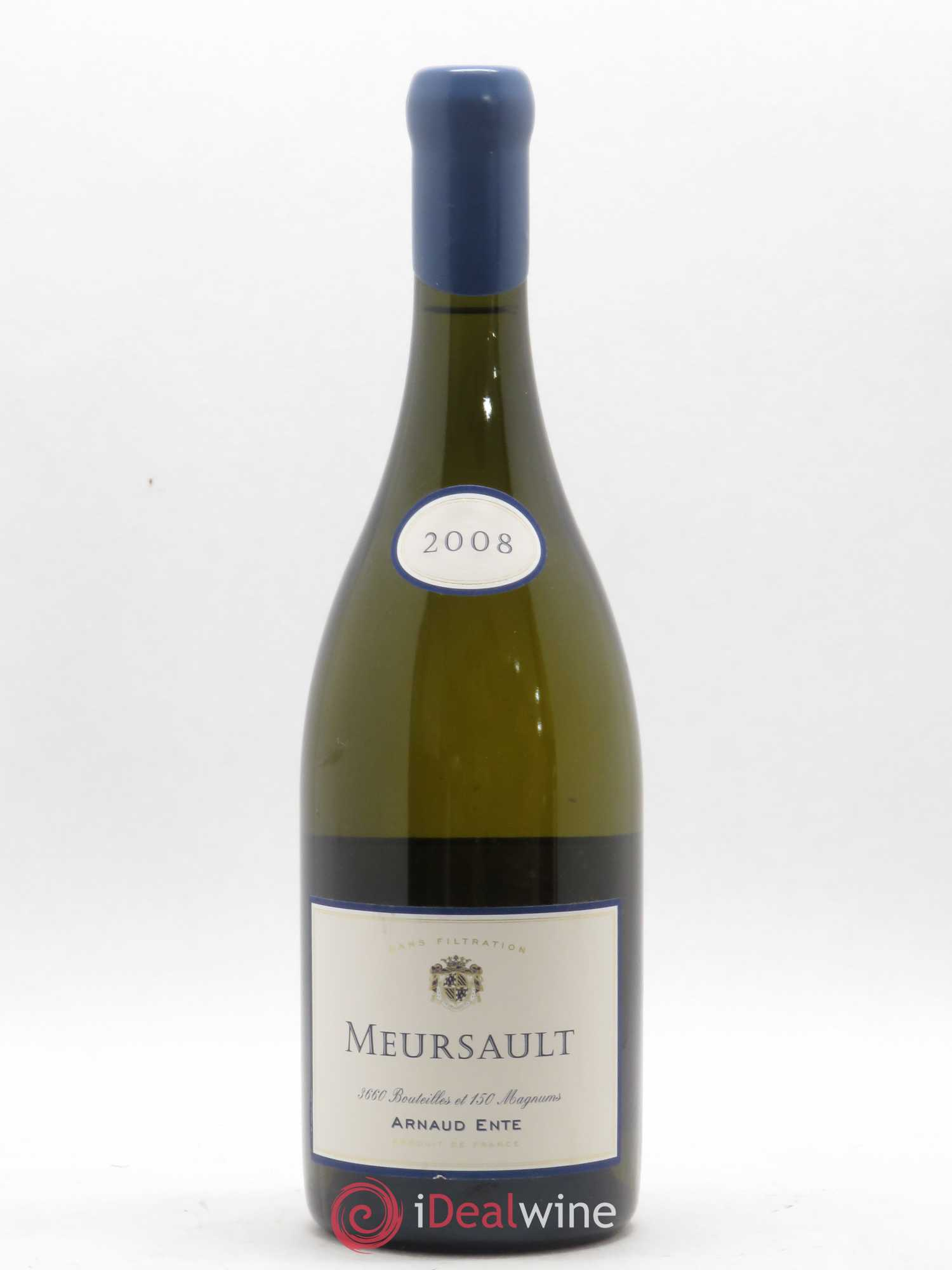 Meursault Arnaud Ente (Domaine)  2008 - Lot of 1 Bottle