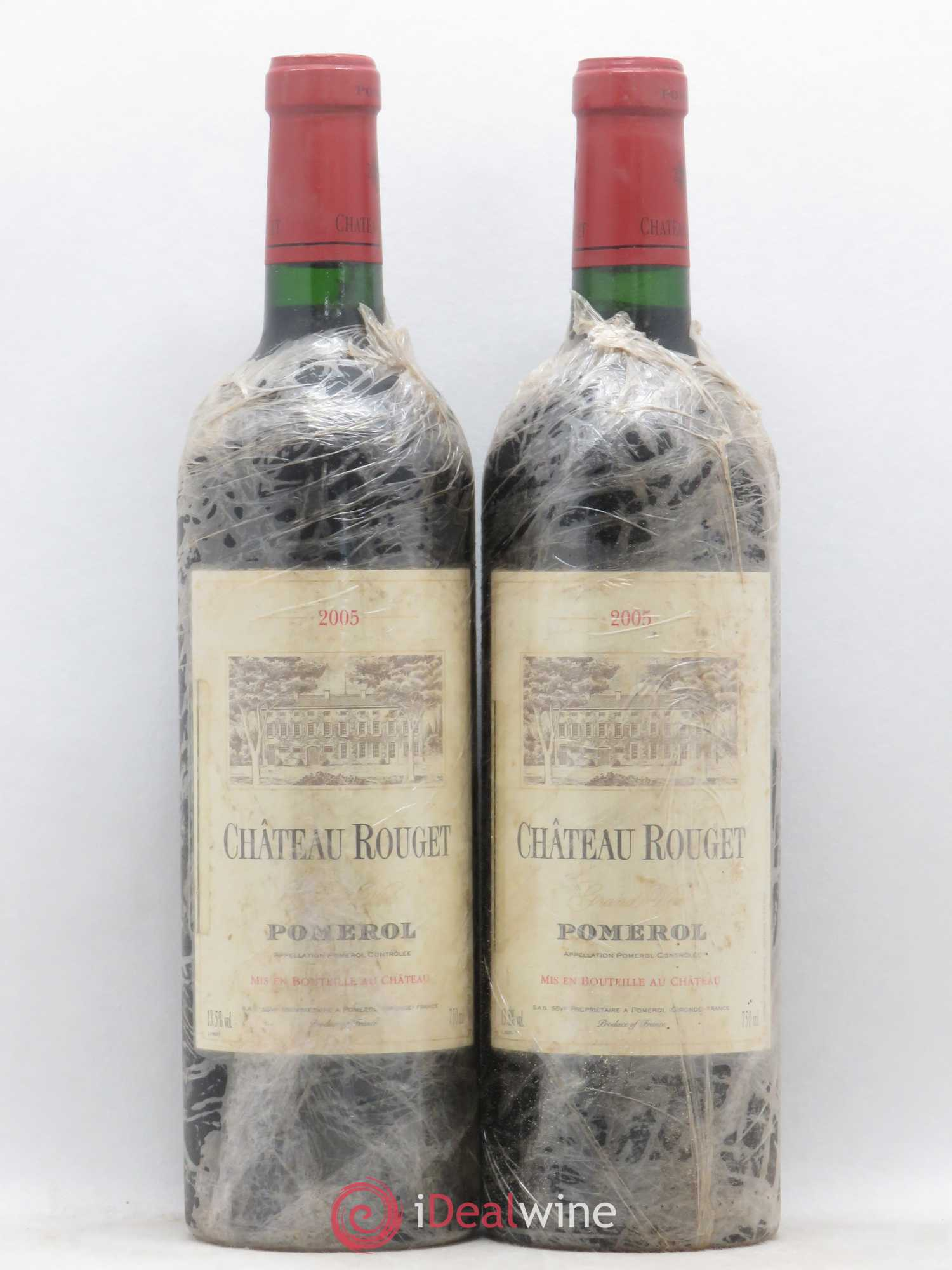 Château Rouget  2005 - Lot of 2 Bottles