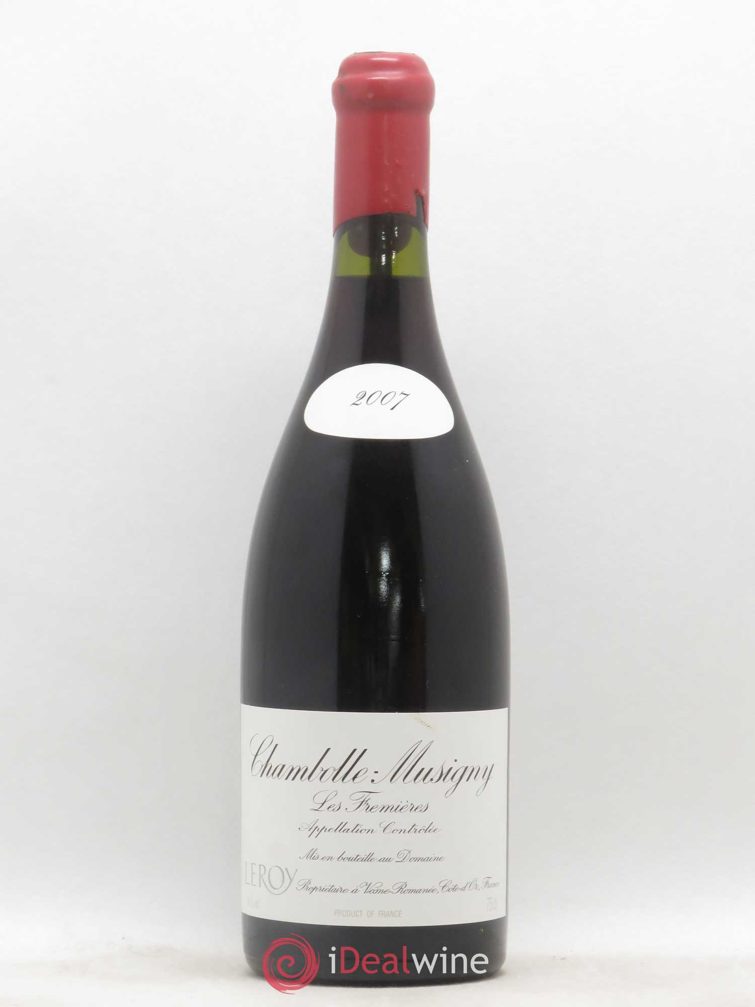 Chambolle-Musigny Les Fremières Leroy (Domaine)