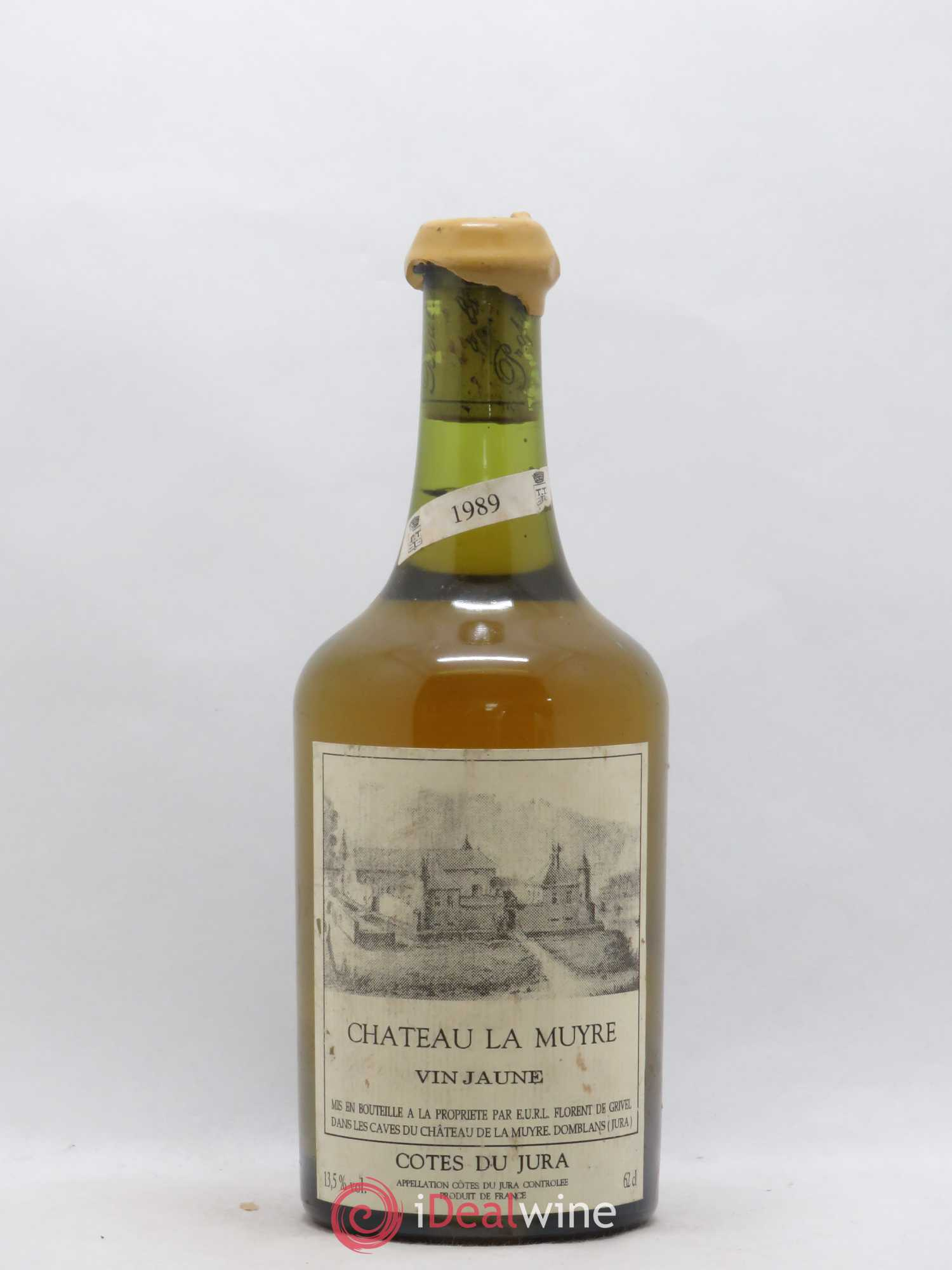Côtes du Jura Vin Jaune Château la Muyre 1989 - Lot of 1 Bottle