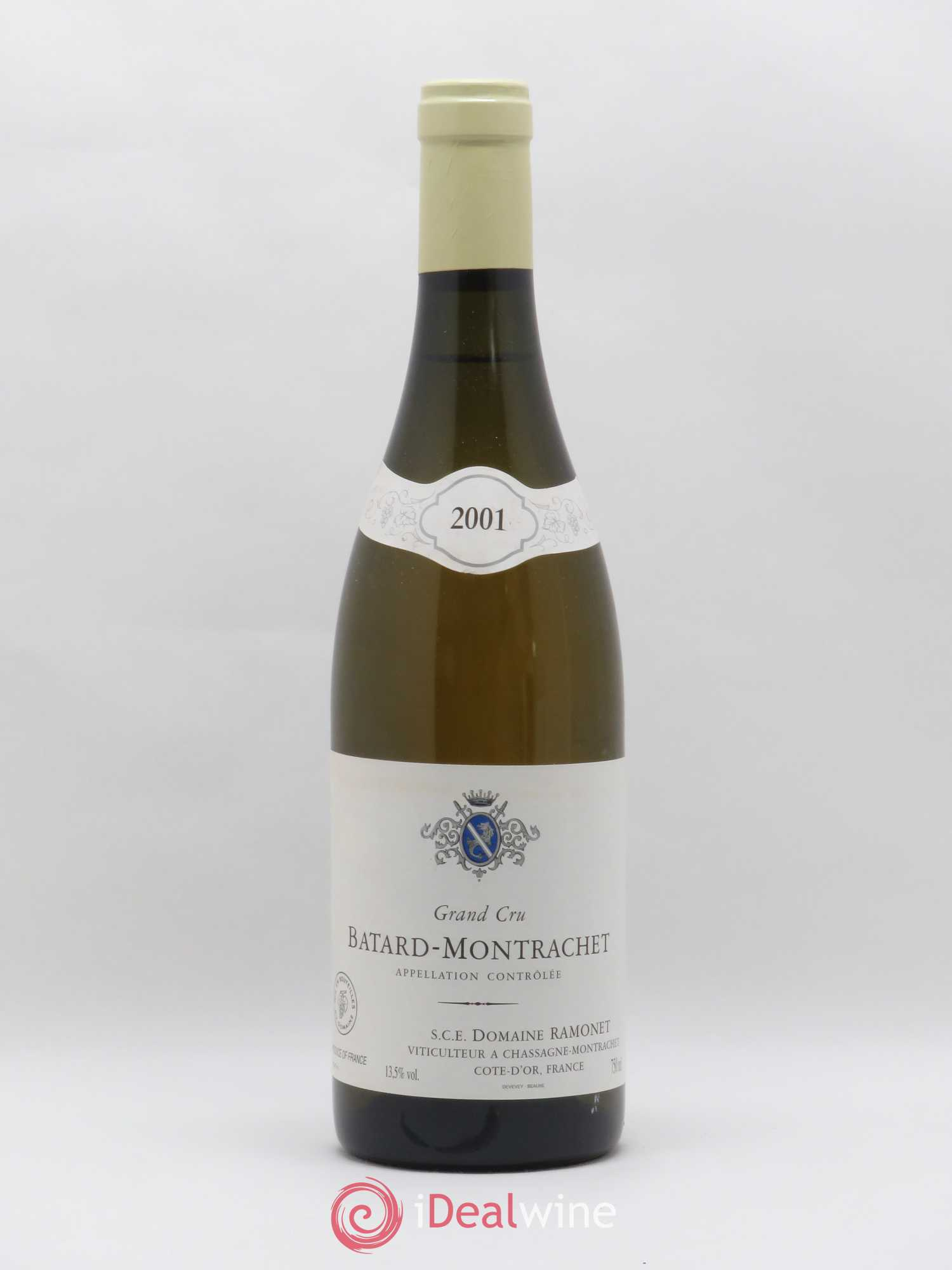 Buy Bâtard Montrachet Grand Cru Ramonet Domaine 2001 Lot 2088