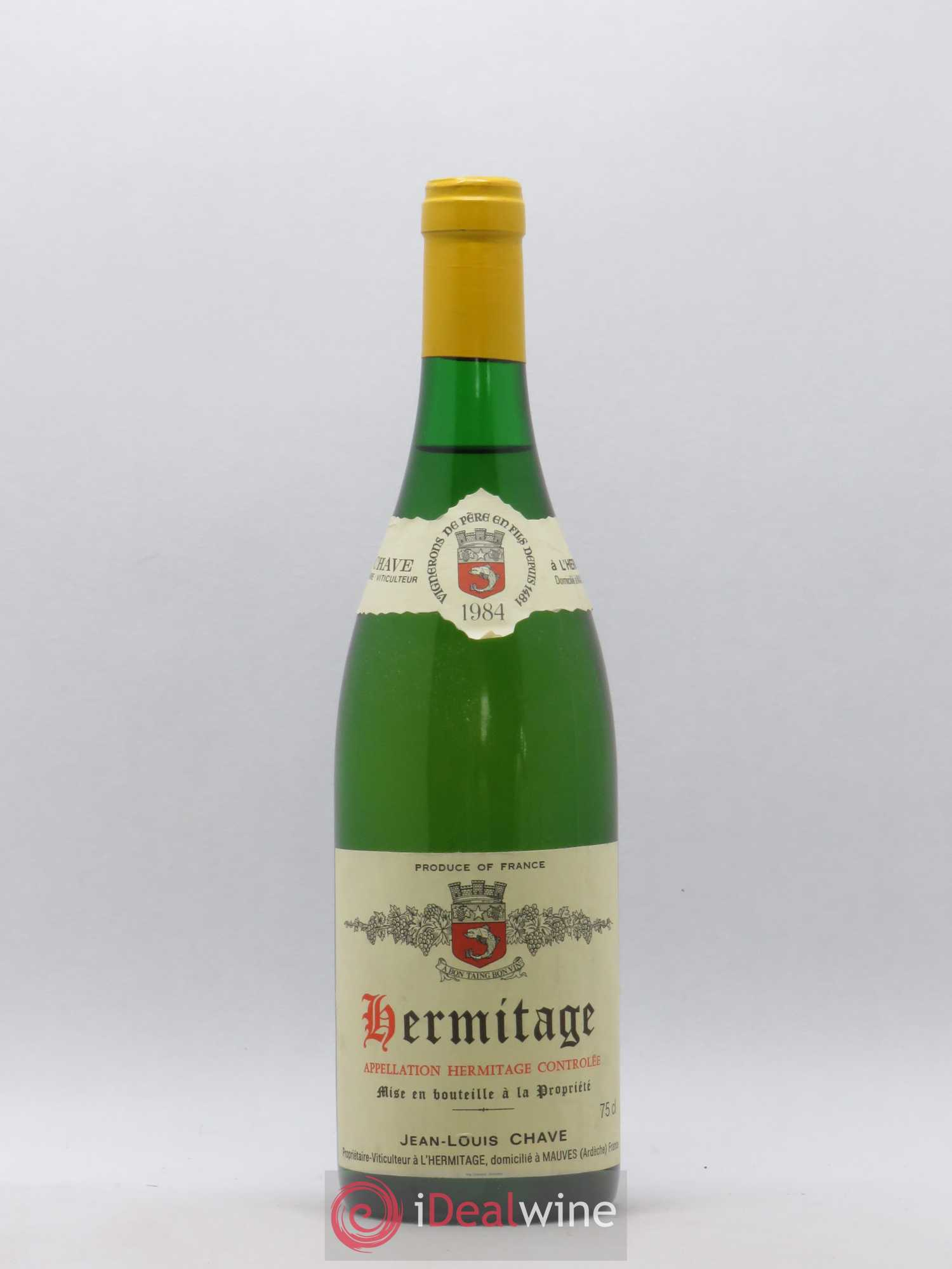 Hermitage Jean-Louis Chave (no reserve) 1984 - Lot of 1 Bottle