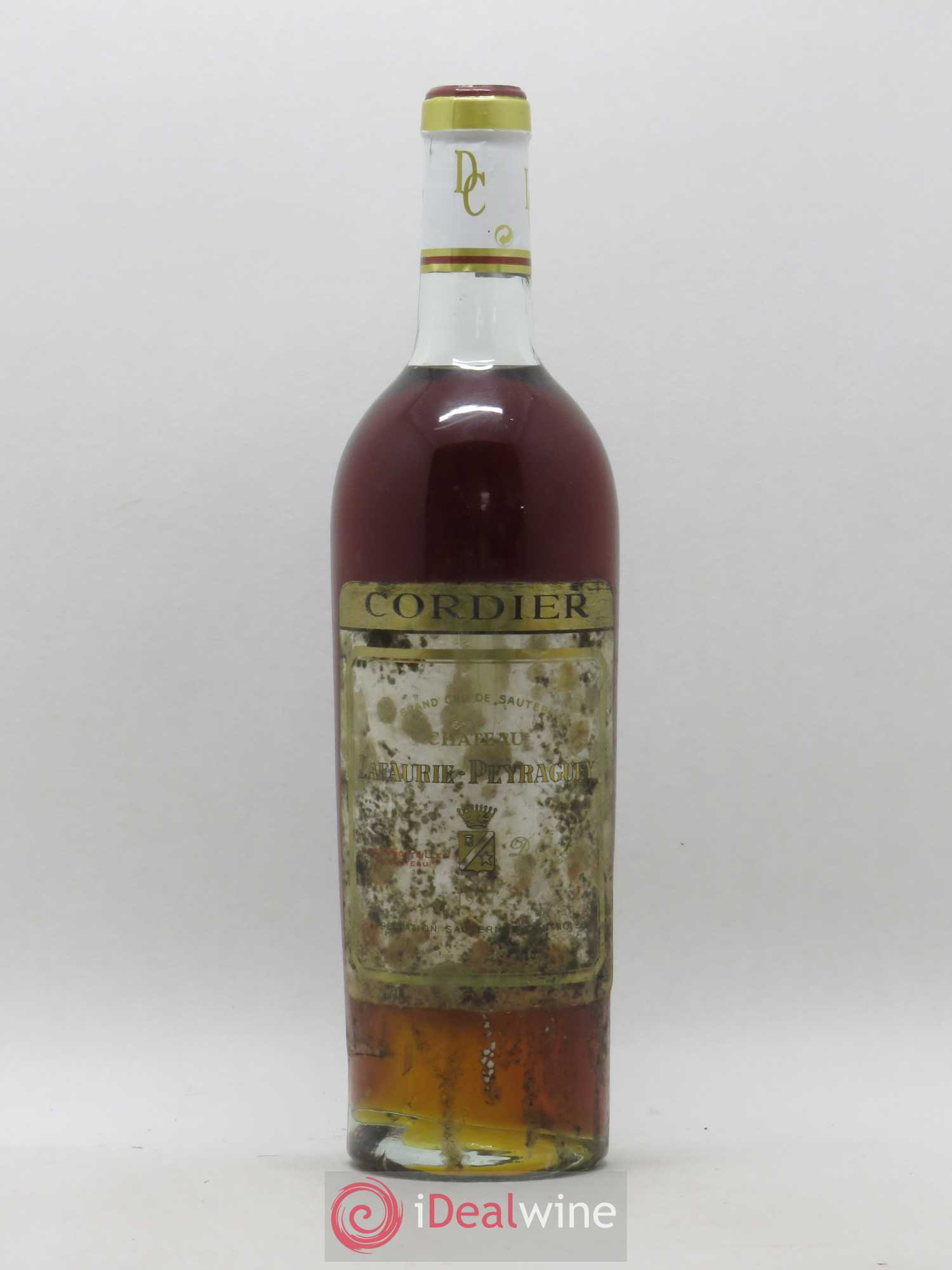 Château Lafaurie Peyraguey 1er Grand Cru Classé (no reserve) 1947 - Lot of 1 Bottle