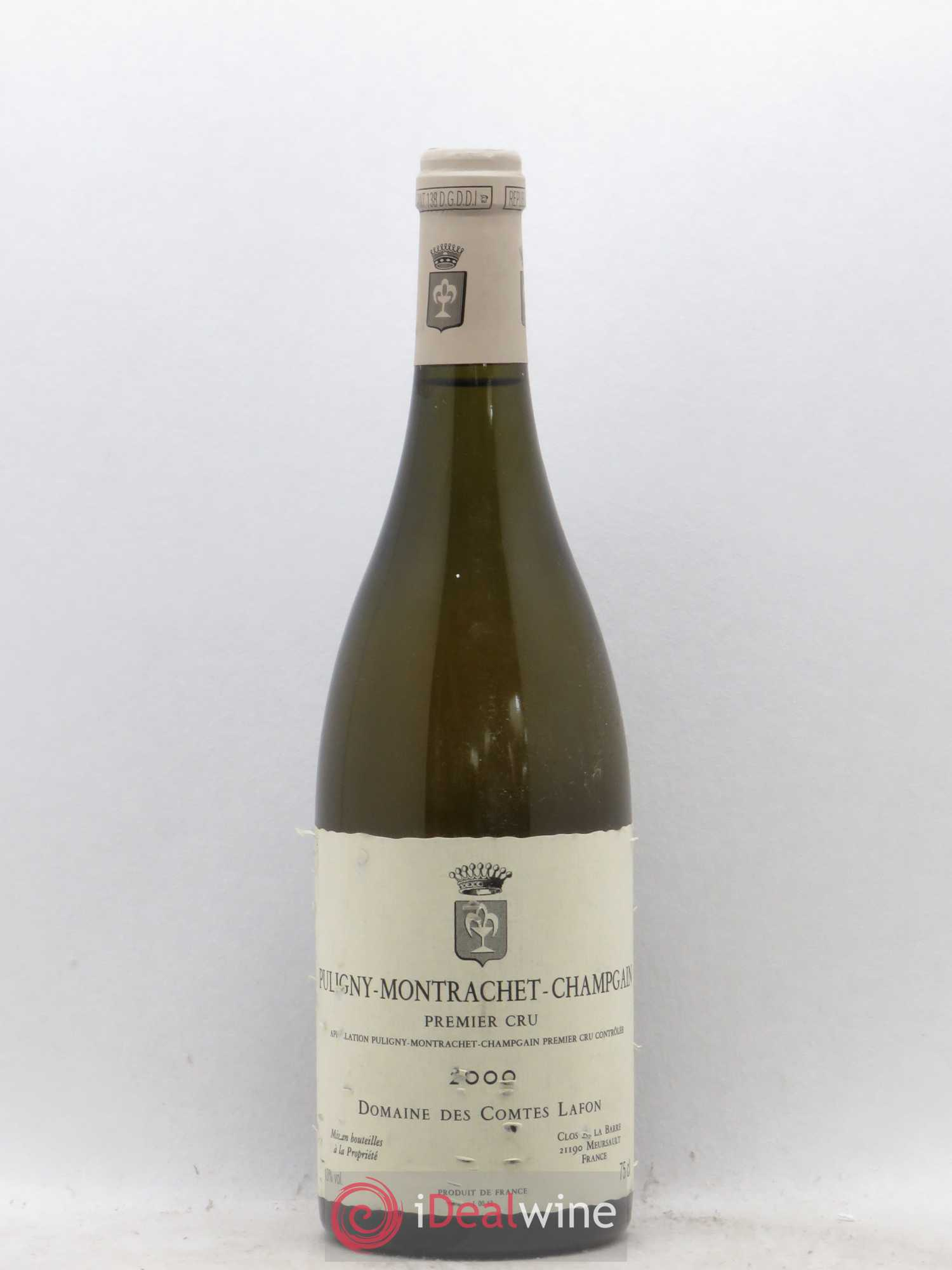 Puligny-Montrachet 1er Cru Champgain Comtes Lafon (Domaine des) (no reserve) 2000 - Lot of 1 Bottle