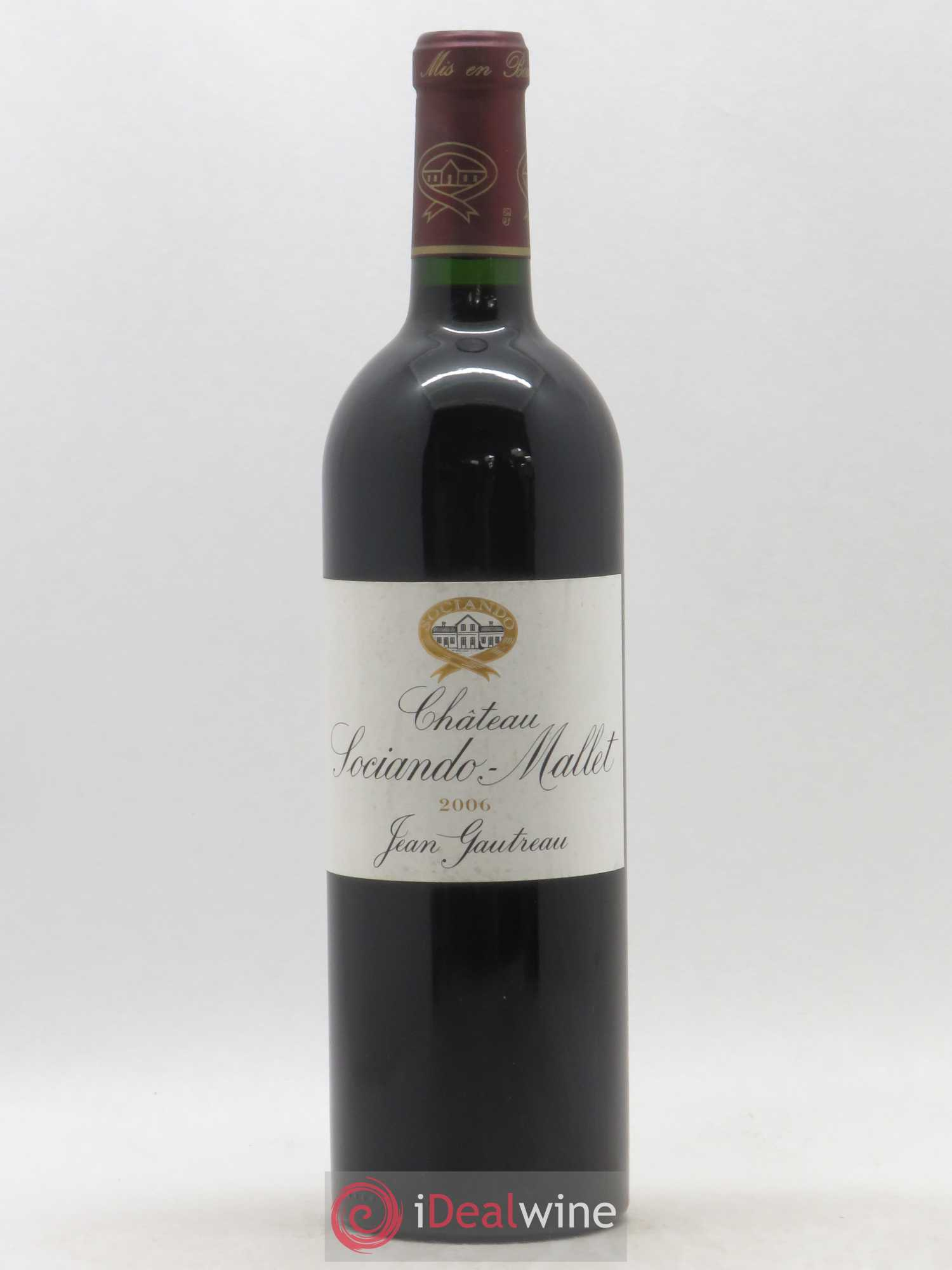 Château Sociando Mallet  2006 - Lot of 1 Bottle