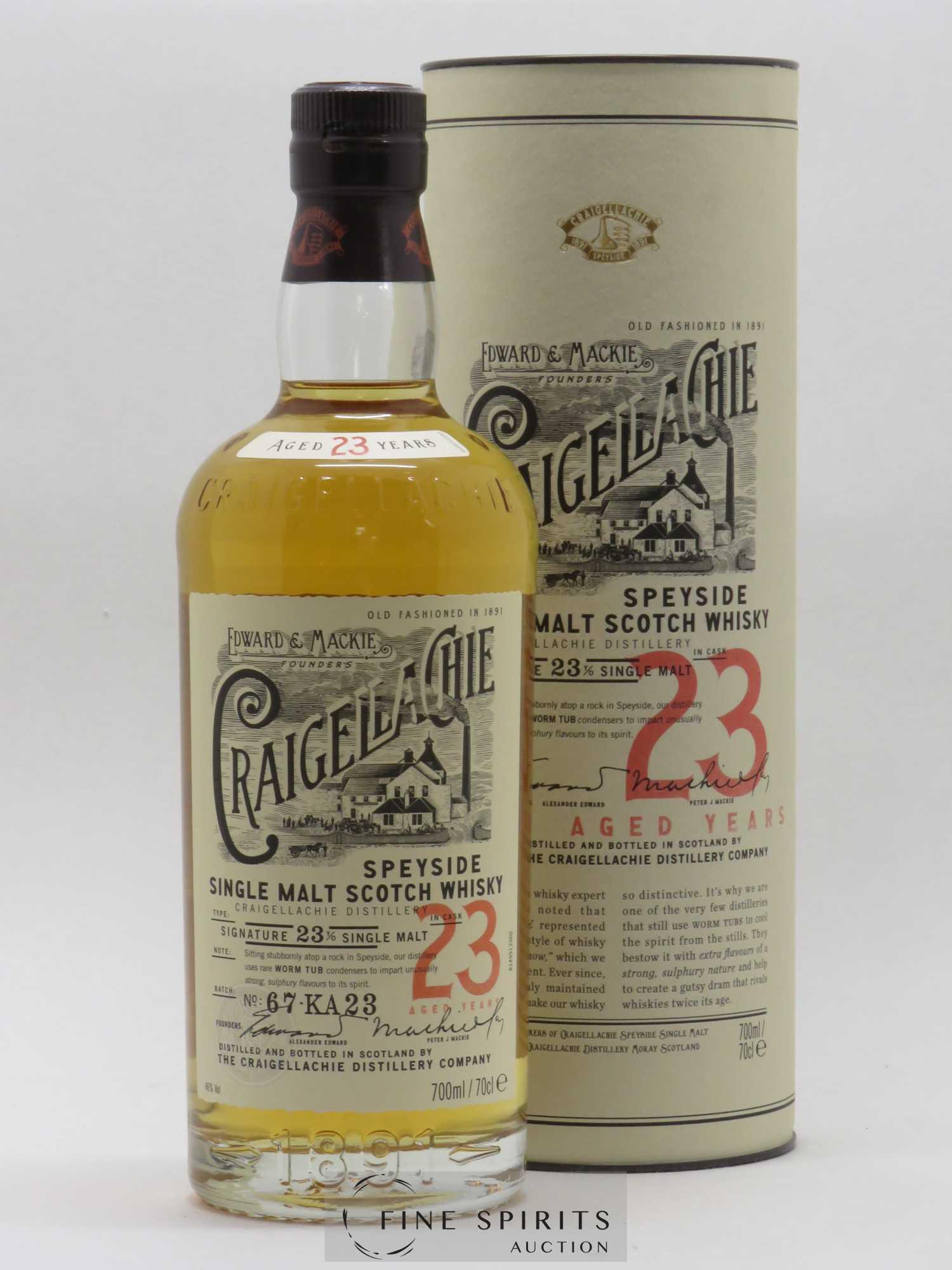 Craigellachie 23 ans