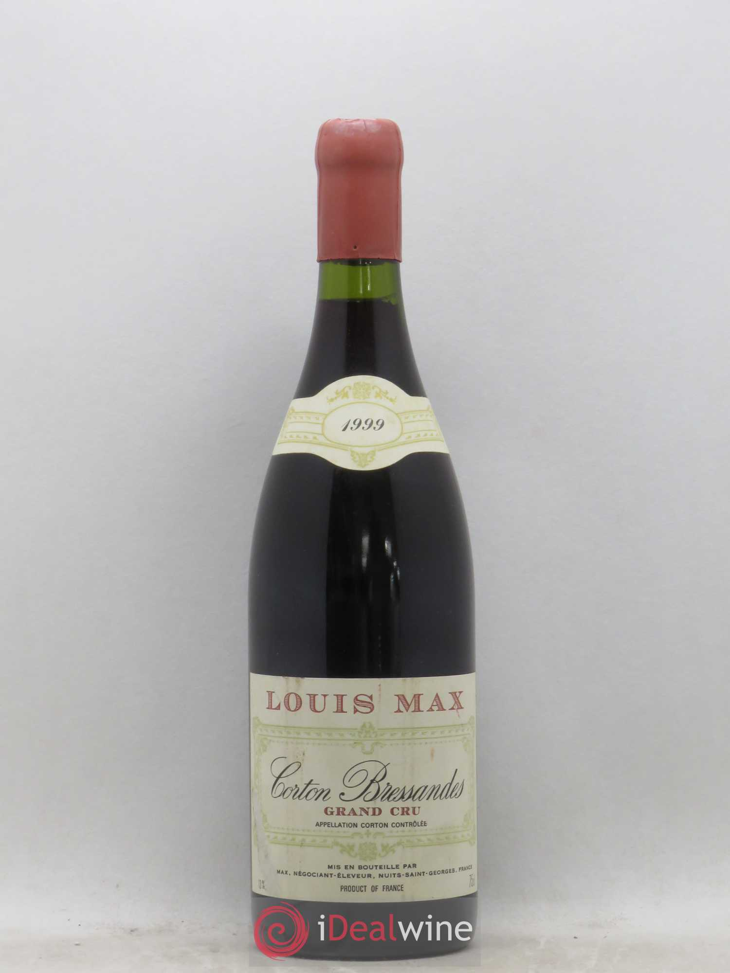 Corton Grand Cru Bressandes Louis Max 1999 - Lot of 1 Bottle