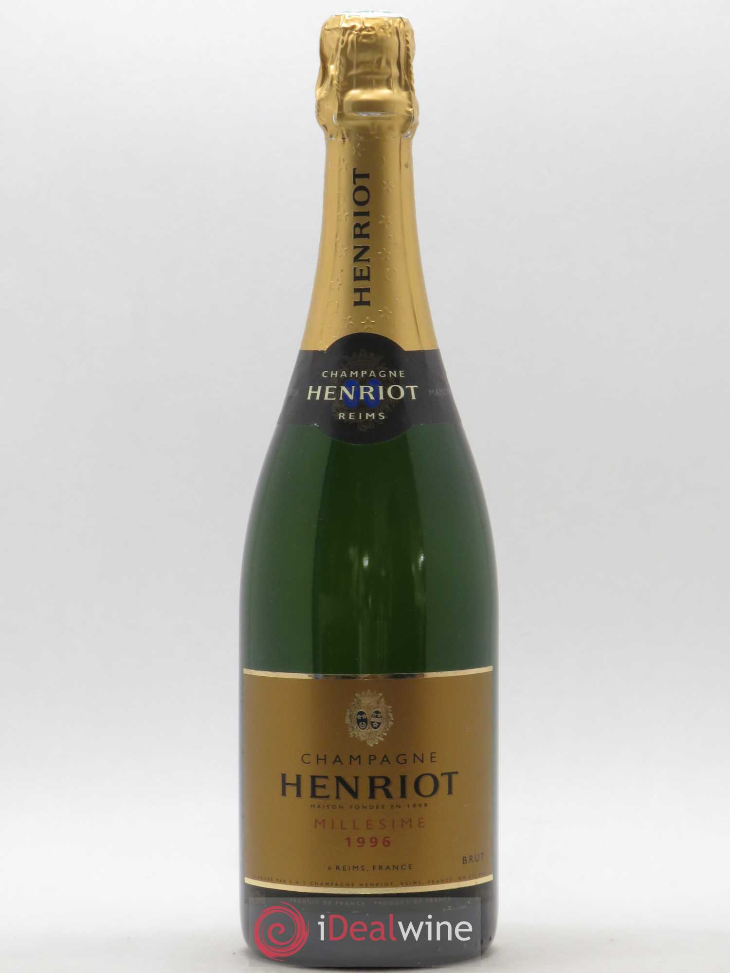 Brut Millésimé Henriot  1996 - Lot of 1 Bottle