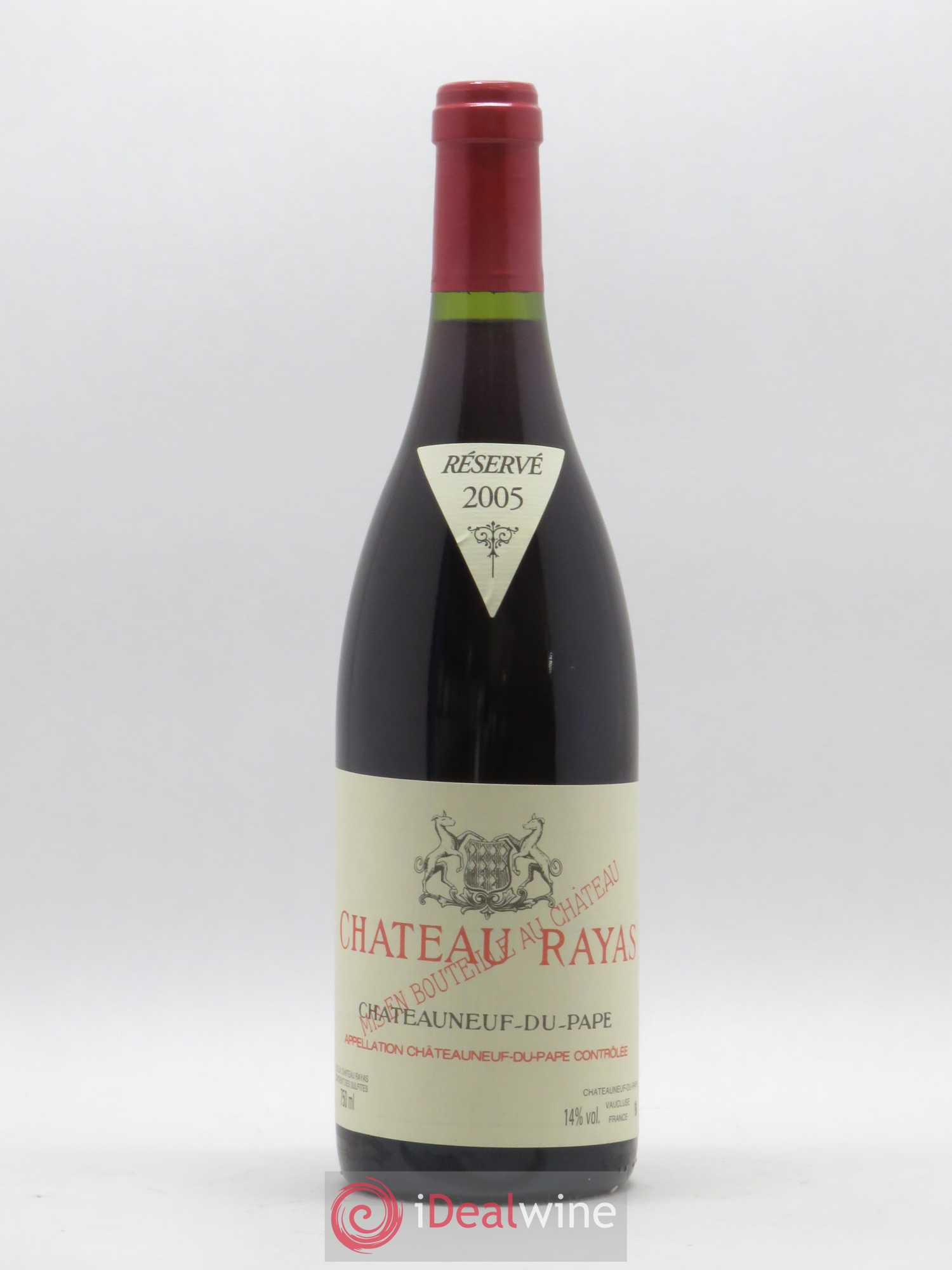 Châteauneuf-du-Pape Château Rayas Reynaud  2005 - Lot of 1 Bottle