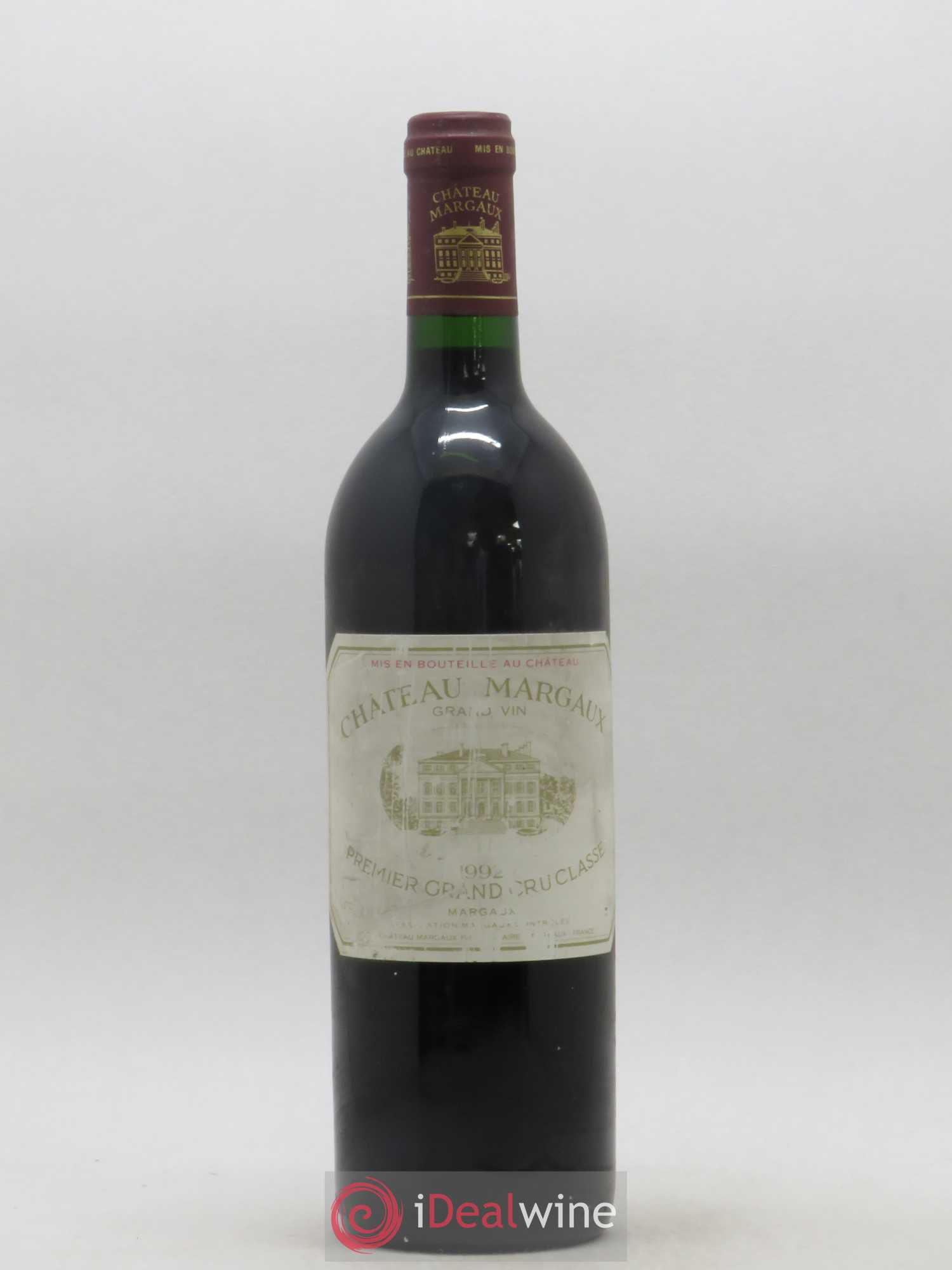 Château Margaux 1er Grand Cru Classé  1992 - Lot of 1 Bottle
