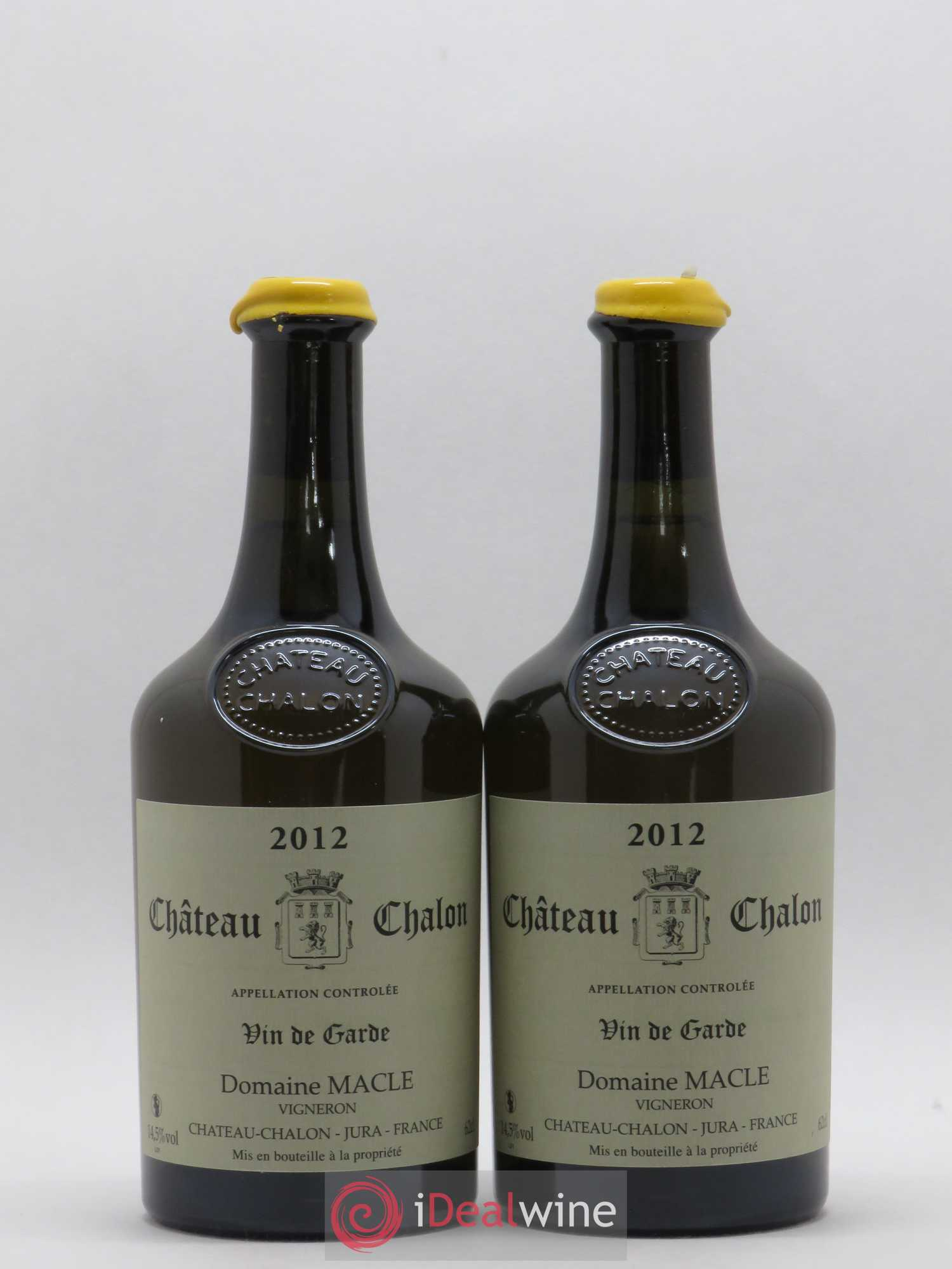 Château-Chalon Jean Macle (no reserve) 2012 - Lot of 2 Bottles