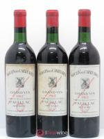 Moulin des Carruades Second vin  1962 - Lot de 3 Bouteilles