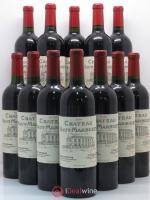 Bottle Château Haut Marbuzet  2006 - Lot of 12 Bottles