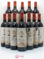 Bottle Château d'Armailhac - Mouton Baron(ne) Philippe 5ème Grand Cru Classé  1996 - Lot of 12 Bottles