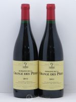 IGP Pays d'Hérault Grange des Pères Laurent Vaillé  2011 - Lot of 2 Bottles