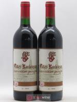 Saint-Émilion Grand Cru Côtes Rocheuses 1989