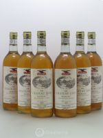 Château Liot Barsac 1981 - Lot of 6 Bottles