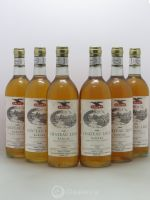 Château Liot  1981 - Lot of 6 Bottles