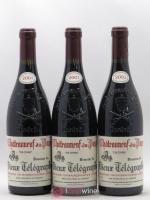 Châteauneuf-du-Pape Vieux Télégraphe (Domaine du) Vignobles Brunier La Crau 2001