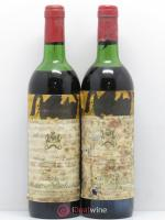 Château Mouton Rothschild 1er Grand Cru Classé  1974 - Lot of 2 Bottles
