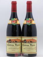 Côte de Brouilly Cuvée Godefroy Château Thivin 2018