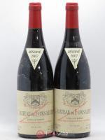 Côtes du Rhône Cuvée Syrah Château de Fonsalette 2007