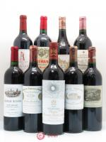 Caisse Collection Duclot 2002 1 Petrus, 1 Latour, 1 Haut Brion, 1 La Mission Haut Brion, 1 Ausone, 1 Cheval blanc, 1 Mouton Rothschild, 1 Margaux, 1 Lafite Rothschild 2002