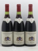 Vosne-Romanée Jules Regnier & Co 1983 - Lot of 3 Bottles