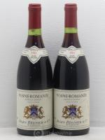 Vosne-Romanée Jules Regnier & Co 1983 - Lot of 2 Bottles