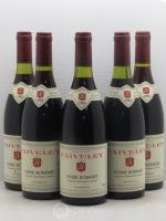 Vosne-Romanée Domaine Faiveley 1985 - Lot of 5 Bottles