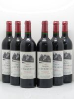 Château l'Évangile  2001 - Lot of 6 Bottles