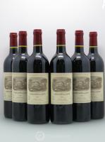 Carruades de Lafite Rothschild Second vin  2001 - Lot de 6 Bouteilles