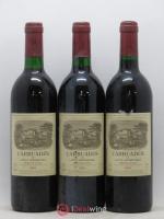 Carruades de Lafite Rothschild Second vin 1989