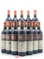 Bottle Château Mouton Rothschild 1er Grand Cru Classé  1998 - Lot of 12 Bottles