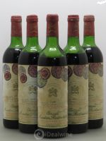 Château Mouton Rothschild 1er Grand Cru Classé  1978 - Lot of 5 Bottles
