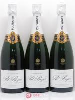 Brut Réserve Pol Roger  ---- - Lot of 3 Bottles