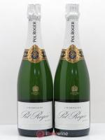 Brut Réserve Pol Roger  ---- - Lot of 2 Bottles
