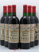 Saint-Émilion Guillemin Gaffelière 1986 - Lot of 6 Bottles