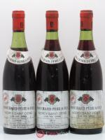 Morey Saint-Denis 1er Cru Clos des Ormes Bouchard 1974 - Lot of 3 Bottles