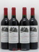 Château l'Évangile  1992 - Lot of 4 Bottles