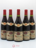 Volnay Domaine Mussy 1988 - Lot of 5 Bottles