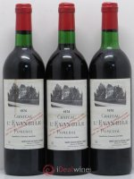 Château l'Évangile  1974 - Lot of 3 Bottles
