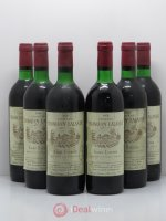 Château Tronquoy Lalande Cru Bourgeois  1976 - Lot of 6 Bottles