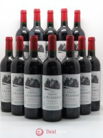 Bottle Château l'Évangile  2001 - Lot of 12 Bottles