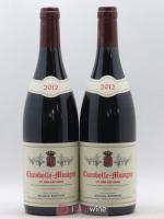 Chambolle-Musigny 1er Cru Les Cras Ghislaine Barthod 2012