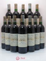 Bottle Château Clinet  1989 - Lot of 12 Bottles
