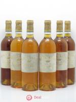 Château Rieussec 1er Grand Cru Classé  1995 - Lot of 6 Bottles