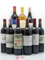 Caisse Collection Duclot 2008 1 Petrus,1 Yquem,1 Haut Brion,1 Mouton Rothschild,1 Margaux,1 Lafite Rothschild,1 Mission Haut Brion,1 Latour,1 Cheval Blanc 2008 - Lot of 1 Bottle