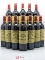 Bottle Château Angélus 1er Grand Cru Classé A  2009 - Lot of 12 Bottles